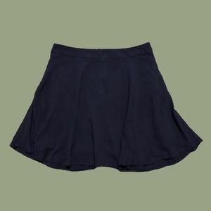 Forever 21 Navy Blue Skater Skirt